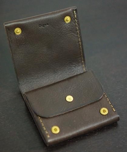 HERZ2つ折りOrgan財布  3