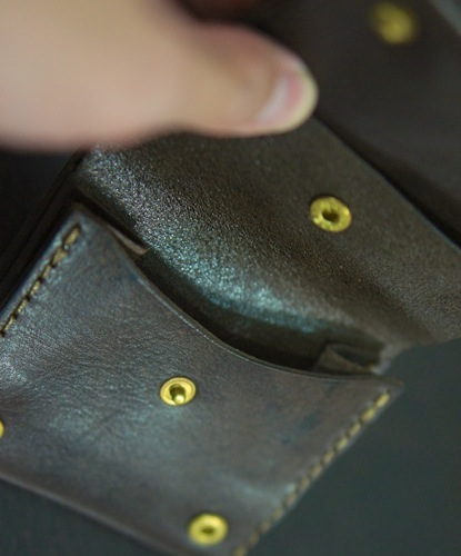 HERZ2つ折りOrgan財布  5