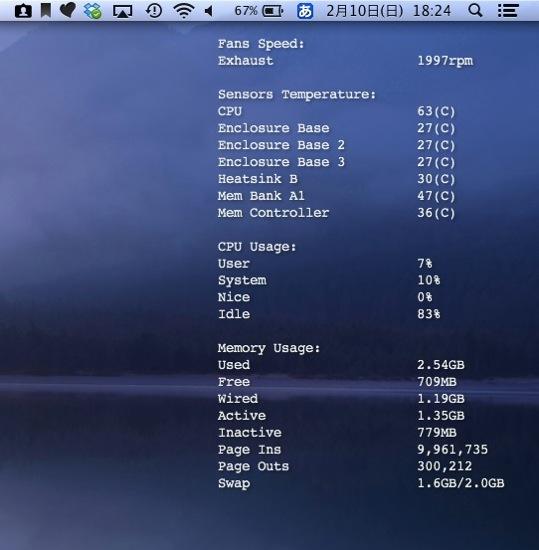 MacSystemMonitor