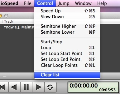 Mac Music Speed Slow Soft3
