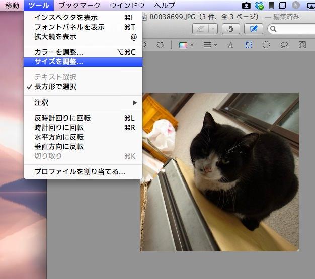 Mac image edit Preview 9