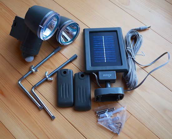 RITEX LED SOLAR Light S 20L 8
