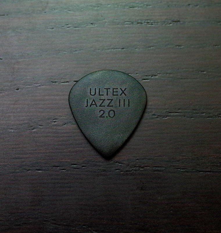 Ultem guitar pick 6