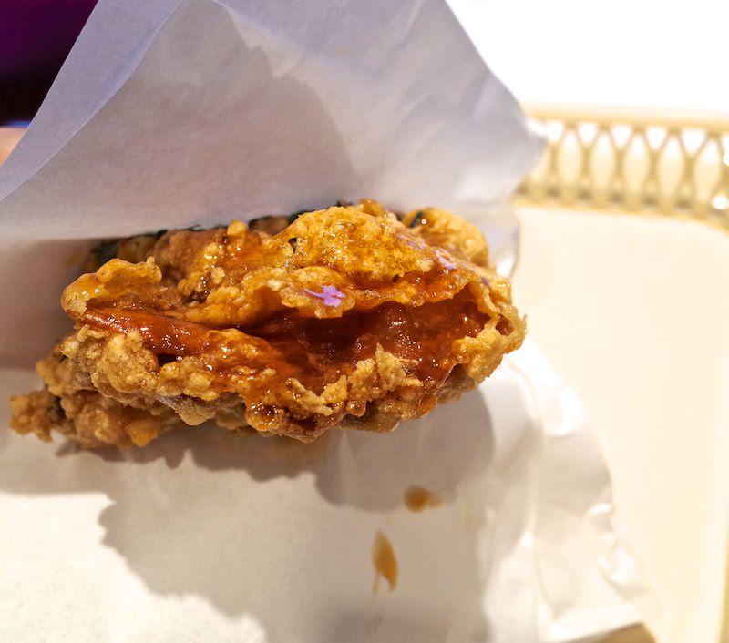 Kentucky Agedashi chicken 3