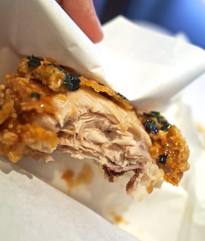 Kentucky Agedashi chicken 4