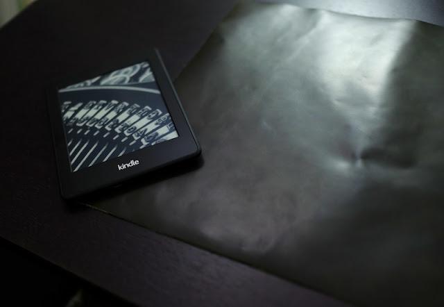 Kindleのレザーケースを自作する参考画像