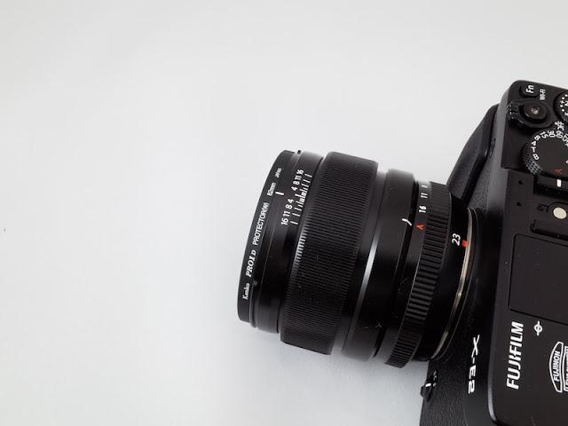 XF23mm F1.4 KenkoレンズガードフィルターPRO1D