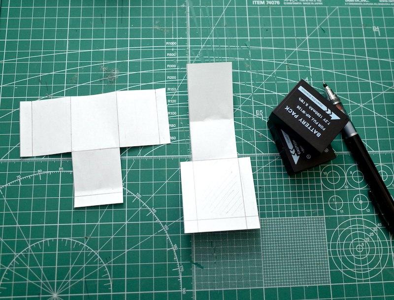 X−E2のバッテリーケースをレザークラフトしてみた