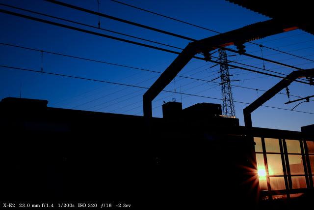 富士フィルムX−E2のフィルムシミュレーション『Velvia』で撮った画像