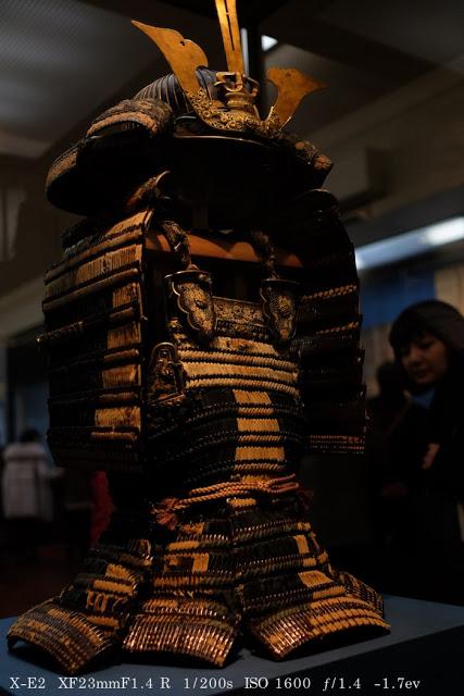 富士フィルム X-E2で撮影した東京国立博物館の国宝