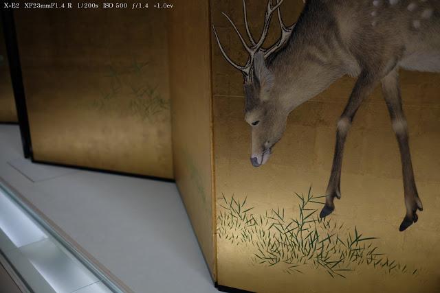 富士フィルム X-E2で撮影した東京国立博物館の美術品