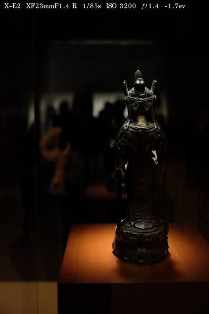 法隆寺宝物館のお釈迦様