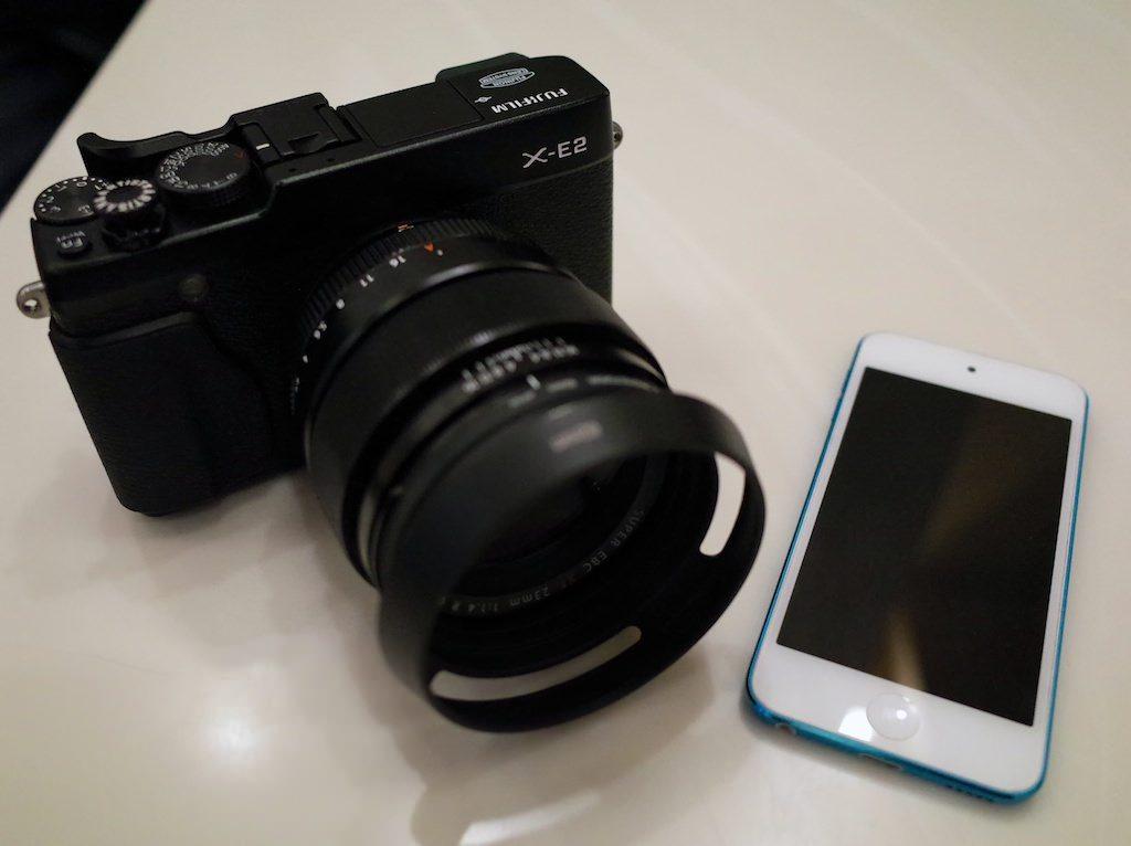 X-E2とEye-Fiでダイレクトモード写真転送を試す