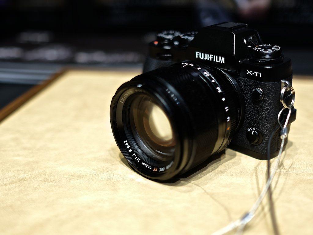 X-T1とXF56mm