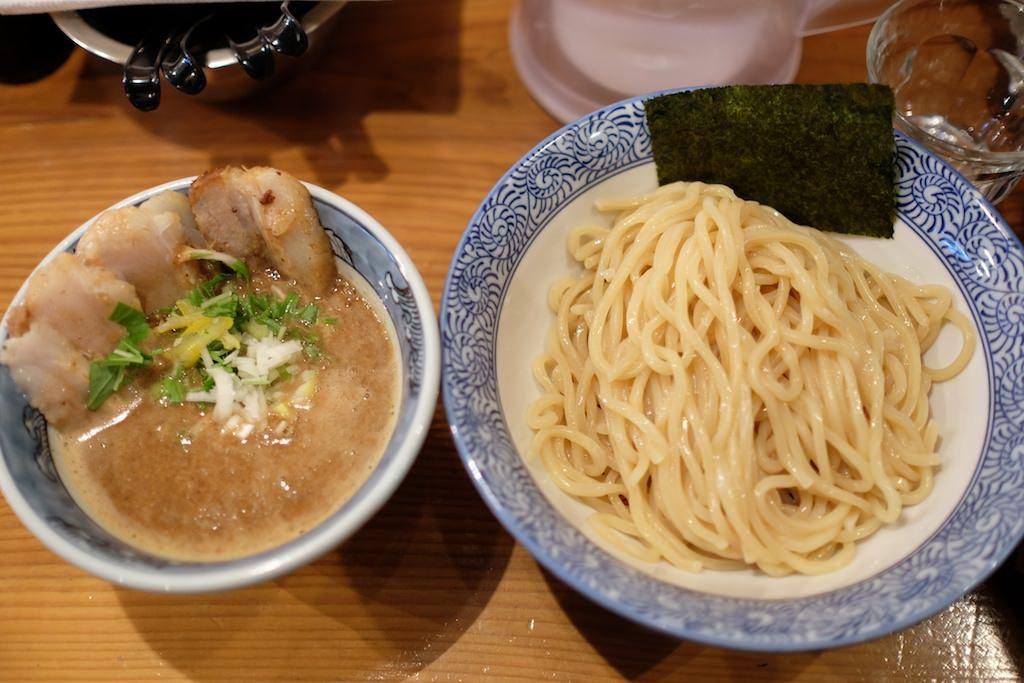 道玄坂マンモスのつけ麺画像