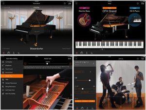 YAMAHAの無料ピアノiPadアプリ Smart Pianist(スマートピアニスト)