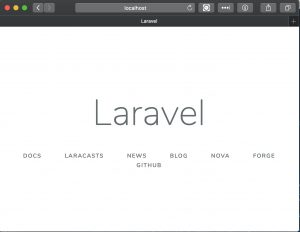 laravelをルートディレクトリで表示させる
